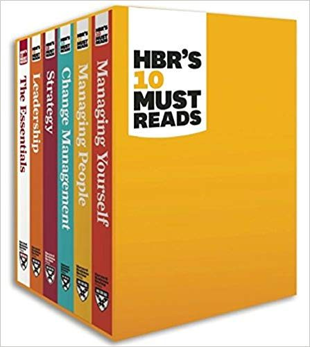 HBR's ten must-reads boxed set book