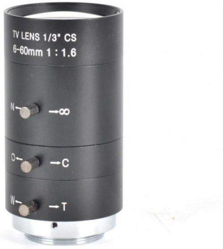 "Inesun 6-60mm 1/3"" CS Lens CCTV Lens"