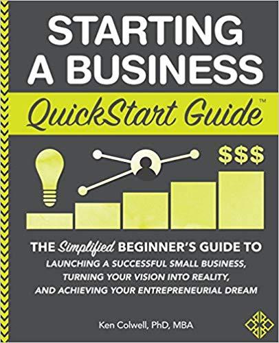 Starting a Business QuickStart Guide | business books for beginners