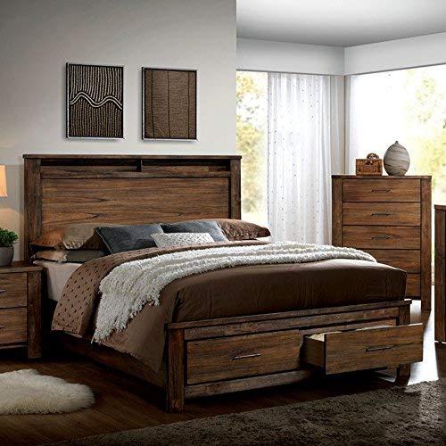 Elkton Oak Finish | King Bedroom Set