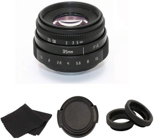 35mm F1.6 APS-C Television TV Lens/CCTV Lens