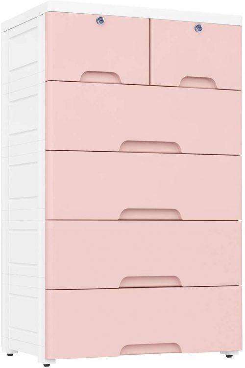 Nafenai Plastic Drawers dresser