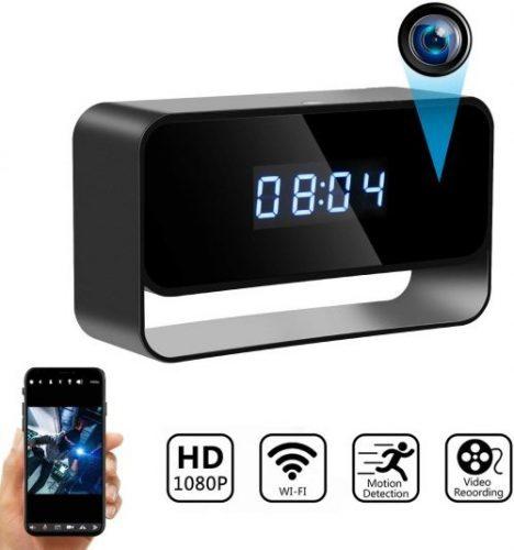 Hidden Camera Clock Wireless Spy Cameras HD 1080P | Office Camera