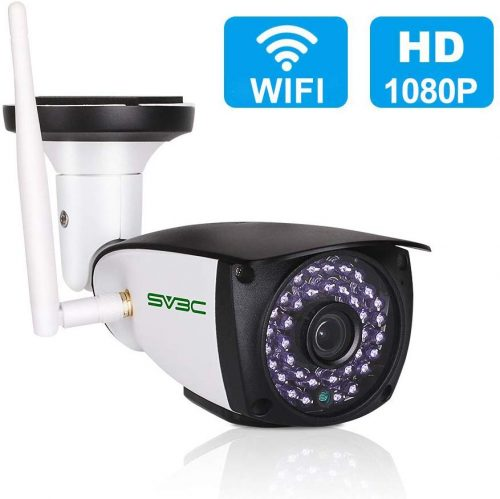 [Updated Version] WiFi Camera Outdoor, SV3C 1080P HD| CCTV Camera With Recording
