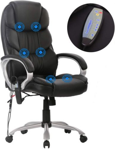 High Back Office Chair Ergonomic Massage Chair