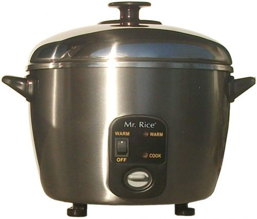 3 Cups Stainless Steel Cooker and Steamer | Rice Cooker Stainless Steel Inner Pot