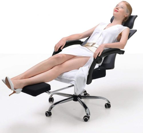 Hbada Ergonomic Office Recliner Chair - High-Back Desk Chair