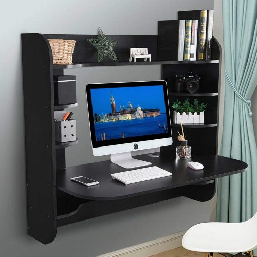 Binrrio Wall Mounted| Compact Computer Desks