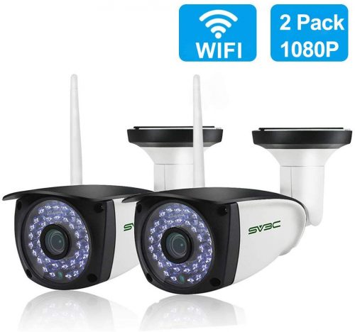 [New 2 Pack] WiFi Camera Outdoor | CCTV Camera With Recording