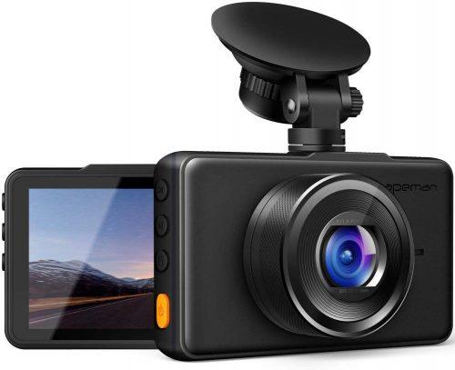 APEMAN Dash Cam 1080P FHD DVR Car Driving Recorder