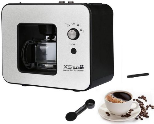 Grinding & Brew| 4 Cup Coffee Maker