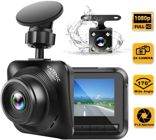 Dash Cam Car Camera Recorder FHD 1080P Front and Rear