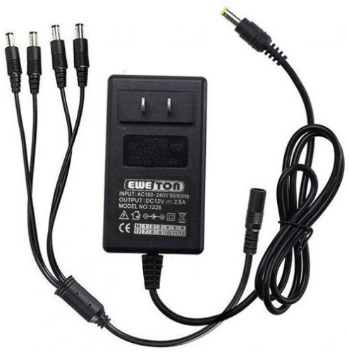 EWETON Security Camera Power Adapter | CCTV Power Supply