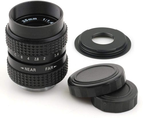 Pixco 25mm F1.4 CCTV Lens