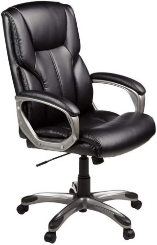AmazonBasics High-Back Executive Swivel Office