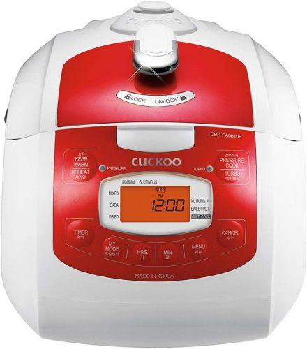 Cuckoo CRP-FA0610FR (Red) | Cuckoo Rice Cooker