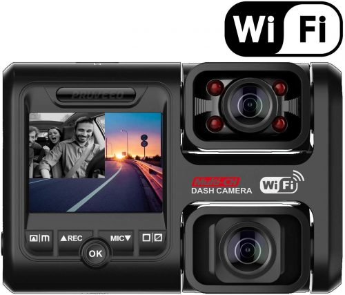 Pruveeo D30H Dash Cam with Infrared Night Vision