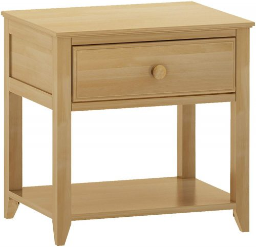Max &lily Solid Wood Nightstand