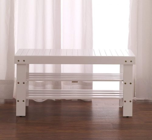 Wood shoe bench - Quality Furniture