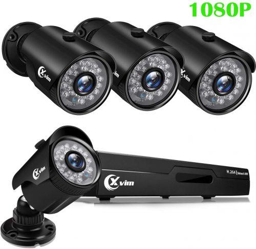 XVIM 1080P Home Security Camera System | CCTV Camera With Recording