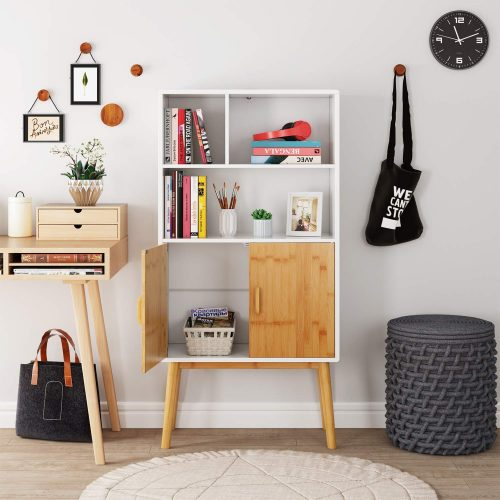 HOMECHO Storage Cabinet | Office Cupboard