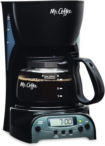 Mr. Coffee 4-Cup Programmable