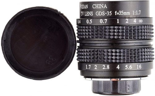 Fujian 35mm f/1.7 CCTV cine Lens