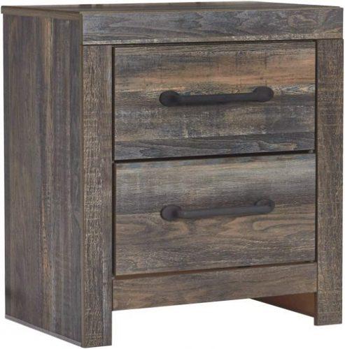 Ashley Drystan Nightstand | Rustic Bedroom Furniture