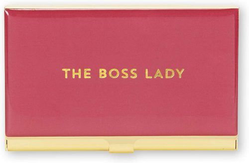 The Boss Lady Business Business Card Holder For Women