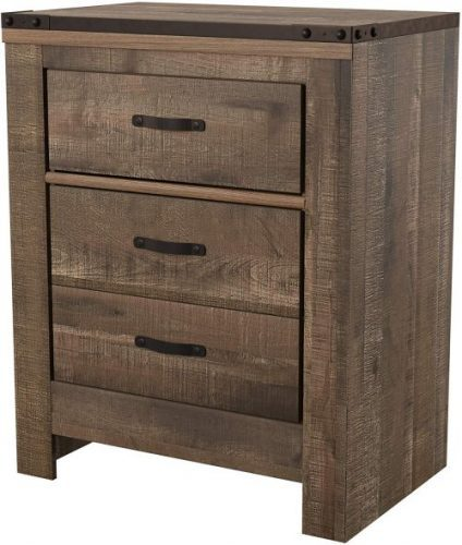 Ashely Trinell Nightstand | Rustic Bedroom Furniture