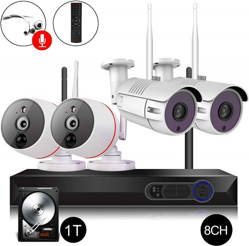 CAMVIEW 8CH Security Camera System Wireless | Wireless CCTV