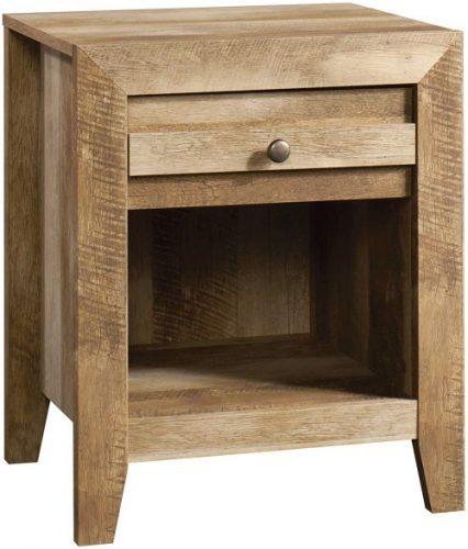 Sauder Dakota Pass Nightstand | Rustic Bedroom Furniture