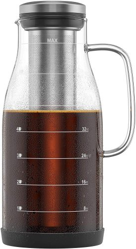 Cold Brew Glass | 4 Cup Coffee Maker