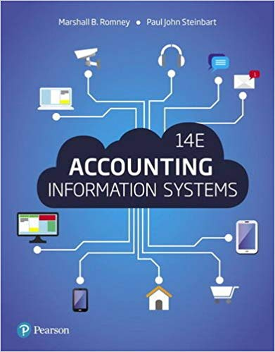 Accounting Information Systems, Global Edition 14th edition Edition