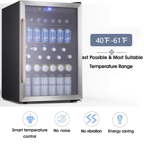 Beverage Refrigerator and Cooler - Drink Fridge  Tavata