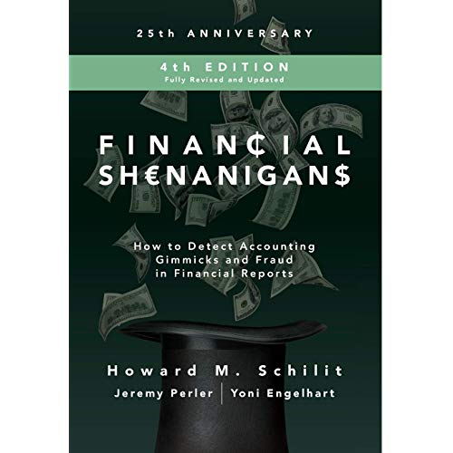 Financial Shenanigans, Fourth Edition