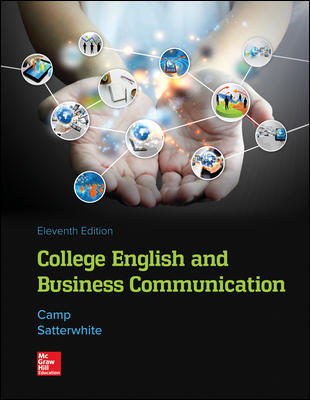 LOOSE LEAF for College English and Business Communication 11th Edition