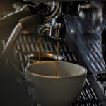 Dual coffee machine