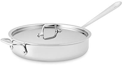 4. All-Clad 2014 Promo P14 4403 Stainless Steel| Saute Pan