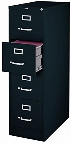"2. Scranton & Co, 4 Drawer 22"" Deep Letter File Cabinet"