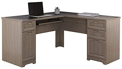 4. Realspace Magellan Collection L-Shaped Desk