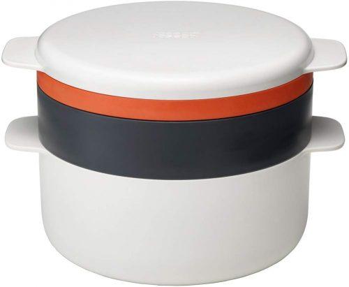 10. Joseph Joseph 45001 M-Cuisine 4 Piece Stackable Microwave Cooking Set