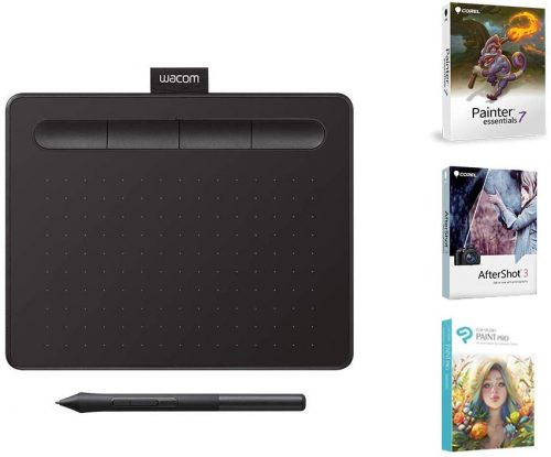 Wacom CTL4100 Intuos Graphics Drawing Tablet | Cheap Drawing Tablets