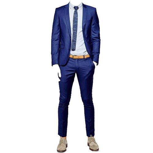 2.HBDesign Men's two pieces Casual slim fit suit | Casual Suits For Men