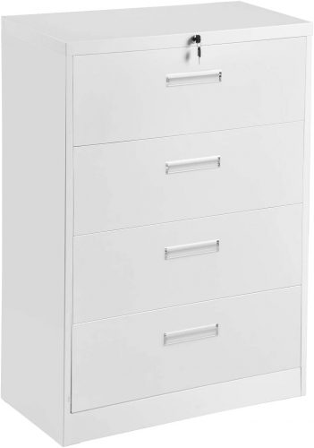 10. Aobabo Home office use Lateral File Cabinet