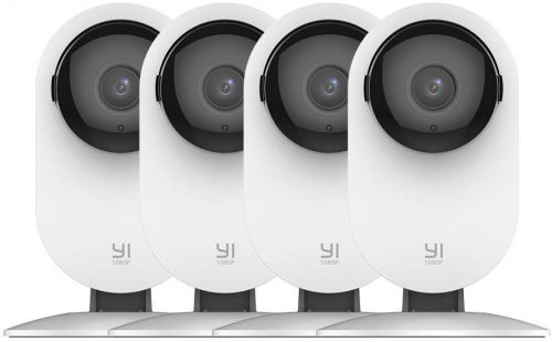 Yi 4pcs Ip Security Camera