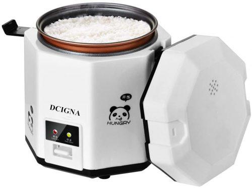 8. DCIGNA 1.2L Mini Rice Cooker, Electric Lunch Box
