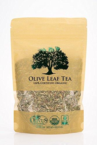 6. Olive Leaf Tea