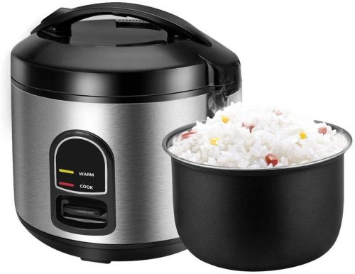 10. Rice Cooker, One-Touch Control