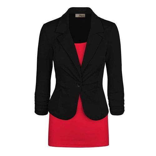 9. Hybrid & Company, Women's Casual Work| Black Blazer For Women